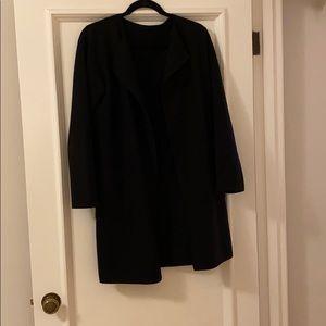 Jcrew BLACK SIZE M - collarless sweater-blazer